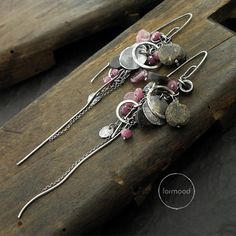 Earrings are totally made of oxidized silver 925 and Baltic amber, ruby  Dimensions: Length: 4.57  (11.6 cm) Stones: 0.2 - 0.39 (5-10 mm) Single earring weight: 6,95 g  You can choose preferred earwires (visible in the last picture)  Ready to ship  We pack all the items in corporate boxes (visible in some offers). We ship all the consignments as priority registered consignments in well protected cartons. Thank you for visiting