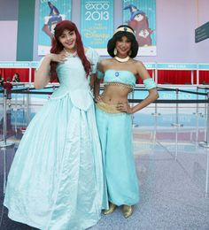 Spotted: Disney Costumes at the D23 Expo