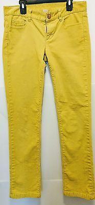 J Crew Womens City FTT Corduroy Pants 27S Yellow/Mustard EUC FREE Shipping #bananarepublic #womensfashion