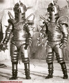 Evil Robots from the 1975 Chinese movie Super Infrman.