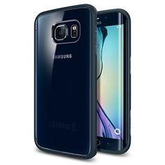 Spigen [AIR CUSHION] Galaxy S6 Edge Case Bumper #Spigen #Case #SamsungGalaxyS6Edge #GalaxyS6Edge #Accessories