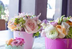 Ιδεες για βαπτιση κοριτσιου με θεμα την ανοιξη - EverAfter Pastel, Rose, Flowers, Plants, Minis, Vintage, Party, Cake, Pink