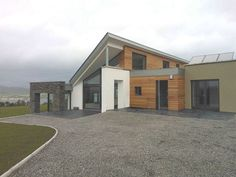 Castletown 2009 by Darragh Quinn Architects Cedar Cladding, Stone Cladding, Slate Stone, Passive House, Planning Permission, House Extensions, New Builds, Architects, Meet