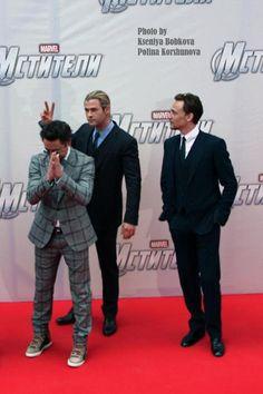 These three guys...
