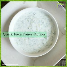 Grate a fresh cucumber and mix with curd. Now apply this mixture on the face and leave it on for 5-10 minutes. This natural face toner works very well for oily skin.