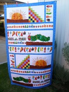 Image result for the very hungry caterpillar quilts