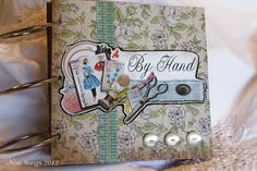 """Shelia Williamson's circle journal theme """"By Hand"""" Journal Themes, Journal Ideas, Scrapbook Paper, Scrapbooking, Book Of Life, Decorating Blogs, Journal Inspiration, Journals, About Me Blog"""