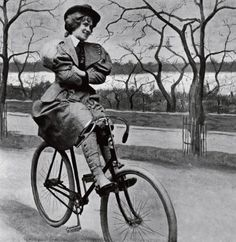 A List of Don'ts for Women on Bicycles Circa 1895 http://www.sepiachord.com/index/a-list-of-donts-for-women-on-bicycles-circa-1895/