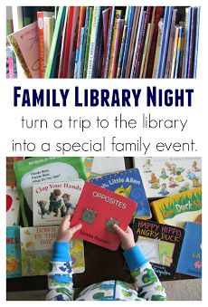 6 tips for starting your own family library night.