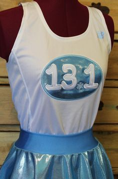 Frozen Elsa Running skirt and singlet outfit by suestevepat