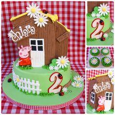 Peppa Pig Farm Cake - Peppa Pig Farm Cake