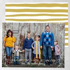 Family Jingle Holiday Photo Cards | Smitten on Paper