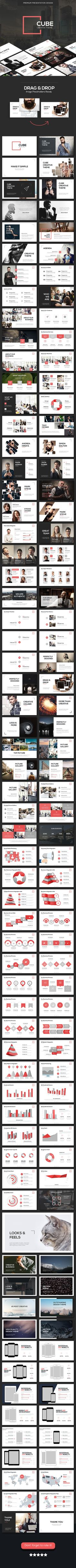 CUBE – Creative Theme (PowerPoint Templates)