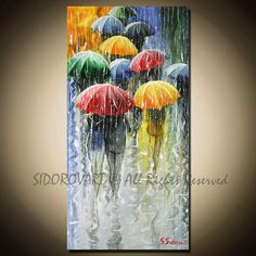 In love with this painting.  It's stunning.  Painting Oil ORIGINAL contemporary fine art textured by sidorovart, $295.00