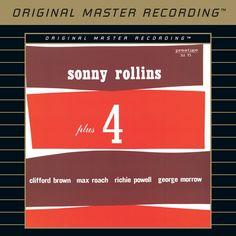 Sonny Rollins - Sonny Rollins Plus 4 on Hybrid SACD From Mobile Fidelity