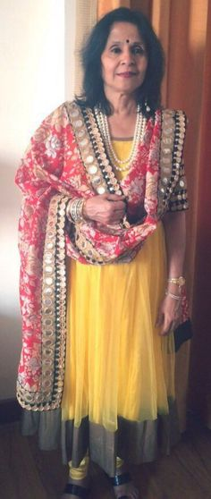 Wearing an Anarkali by Ayush Kejriwal For purchases email me at ayushk@hotmail.co.uk or what's app me on 00447840384707