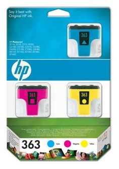 HP Multipack - Print cartridge - 1 x yellow, cyan, magenta - blister 363 -       HP 363 Ink Cartridges 3-pack with Vivera Inks provide vivid, consistent color for laser-quality color and graphics-orientated documents The inks are specially designed for use in your HP printer and to resist fading, smudging and bleeding                Product Description   HP 363 Mu... - http://ink-cartridges-ireland.com/hp-multipack-print-cartridge-1-x-yellow-cyan-magenta-blister-363/ - 363