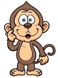 free monkey clip art images cute baby monkeys dey all axed for rh pinterest com clipart cartoon frogs clip art cartoon characters