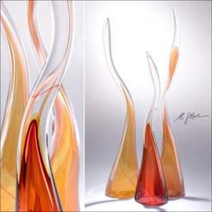 BellacorPro 387230  Glass Kelp Sculpture