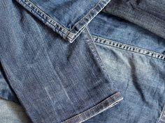 Tutorial fai da te: Come accorciare un paio di jeans via DaWanda.com