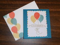 Paper Pumpkin May 2015 - Balloon card
