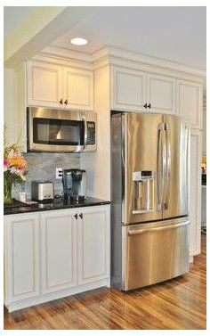 Cuisines Diy, Cuisines Design, Home Decor Kitchen, Diy Kitchen, 10x10 Kitchen, Warm Kitchen, Minimal Kitchen, Funny Kitchen, Awesome Kitchen