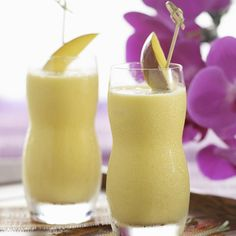 Though it tastes like those iconic vanilla-and-orange popsicles, this creamsicle breakfast smoothie recipe is a balanced breakfast with carbohydrates, protein and, thanks to the addition of coconut water, essential electrolytes. Coconut water serves up more than 10 percent of your daily dose of potassium--an electrolyte you lose through sweat--in every cup, making it a great hydrator for light workouts. Plus, this creamy orange-mango smoothie only contains about 30 mg of sodium per cup…