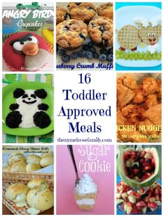 16 Toddler Approved Meals via thenymelrosefamily.com #toddlers #mealplans