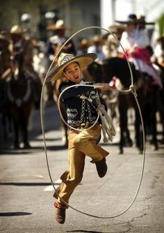 Charrito in all his glory & talent on Cinco de Mayo! (Mexico)