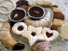 Slovak Christmas Cookie and Entree/ Soup Recipes...need to scroll blue arrows