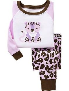 Printed PJ Sets for Baby