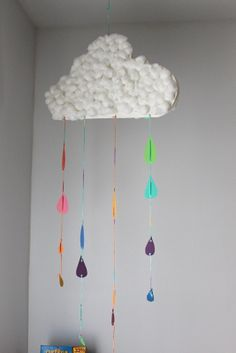 pre k craft rainbow rain