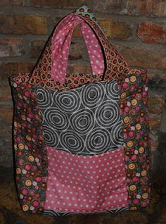 1 Hour Fat Quarter Tote - Tutorial