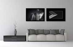 Modern Art | Fine Art Prints by Danie Bester | Black and White Architectural Photography