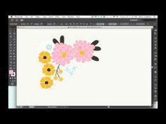 Black Outlined Artwork in Illustrator - video tutorial #AdobeIllustrator