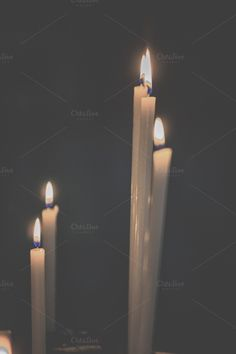 Candles by Patricia Hofmeester on Creative Market
