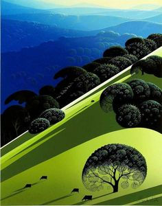Eyvind Earle is the genius behind the art direction of 1959's Sleeping Beauty