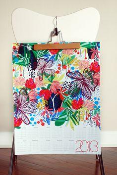 Calendar by Kristiana Howell