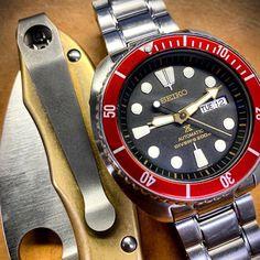 Seiko Diver, Seiko Watches, Samurai, Accessories, Clocks, Samurai Warrior, Jewelry Accessories