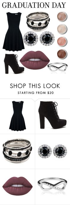 """Graduation"" by gilliaanxx ❤ liked on Polyvore featuring Oasis, Lime Crime, Terre Mère and graduationdaydress"