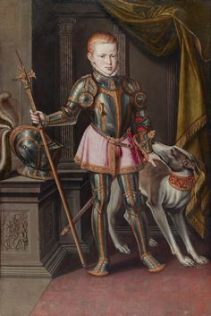 King Sebastian of Portugal, 1562.  Date	1562  Author	Alonso Sanchez Coello (c.1531-1588)