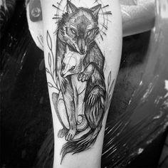 Эскизы татуировок - новый необычный тату-стиль украшения любимой тушки