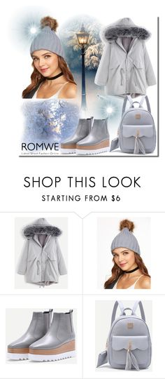 """Romwe no.9"" by almamehmedovic-79 ❤ liked on Polyvore"