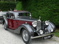 1939 MG SA Saloon