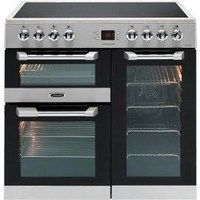 Leisure CS90C530X Cuisinemaster Stainless Steel 90cm Electric Range Cooker With…