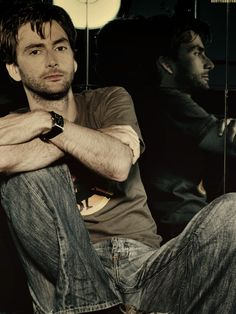 David Tennant. I'm sorry, I can't not pin this. He's just beautiful.
