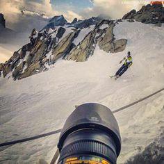 Behind the scenes #adventure #alpine #montblanc #mountain #sport #ski #blackdiamondspring @blackdiamondequipment