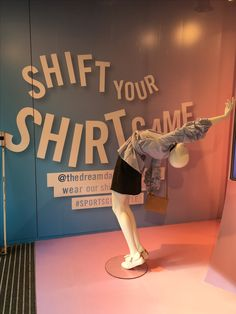 "SPORTSGIRL, Melbourne, Victoria, Australia, ""Shift Your Shirt Game"", uploaded/photo by Ton van der Veer"