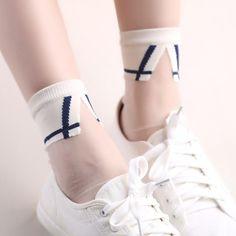 Women Transparent Socks