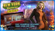 Free Amazon Android App of the day for 5/23/2016 only! Normally $4.99 but for today it is FREE!! New York Mysteries 2: High Voltage (Full) Product Features Bonus chapter with a prequel to the main story. Collect morphing objects, achievements, and bonus puzzles Wallpapers, concept art, soundtracks, and more! A comprehensive Strategy Guide is included